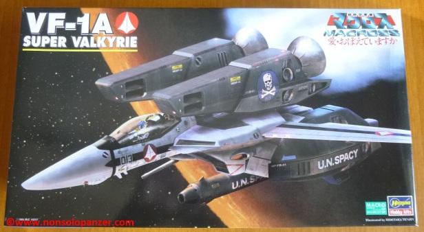 Hasegawa VF-1 Super Valkyrie 01