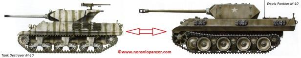 Confronto Ersaz M10 - M10