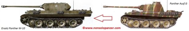 Confronto Ersaz M10 - Panther