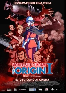 Gundam The Origin I locandina