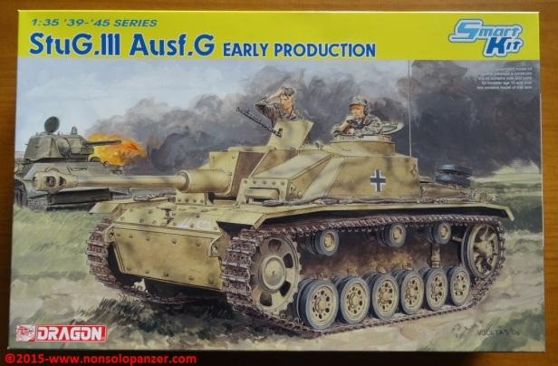 01 Stug III G Early Dragon