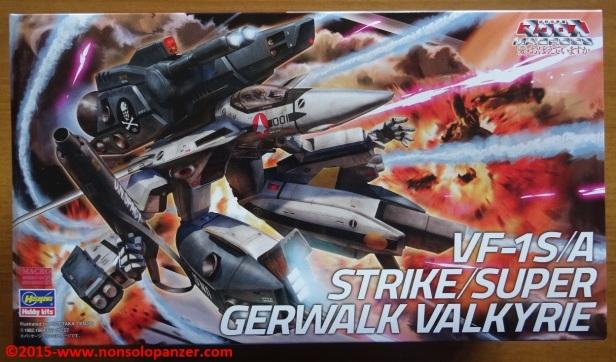 01 VF-1 A-S Strike Gerwalk Hasegawa