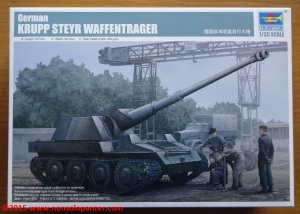 01 Krupp Steyr Waffentrager Trumpeter