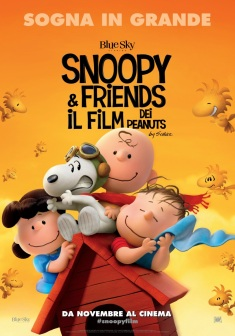 Peanuts locandina