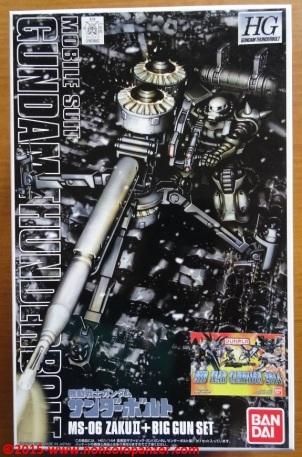 01 Zaku II Big Gun Bandai