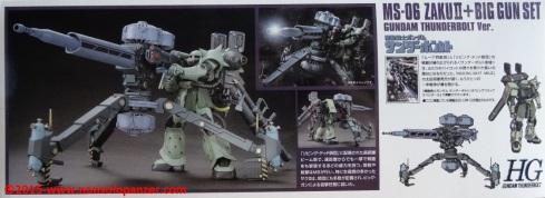 02 Zaku II Big Gun Bandai