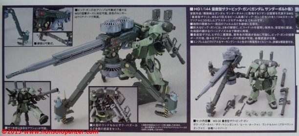 03 Zaku II Big Gun Bandai