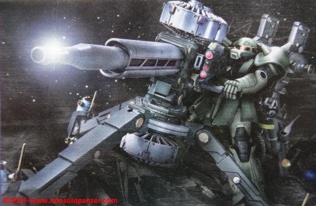36 Zaku II Big Gun Bandai