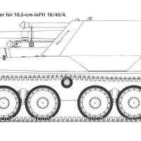 38 Krupp Ardelt 10.5 cm Waffentrager
