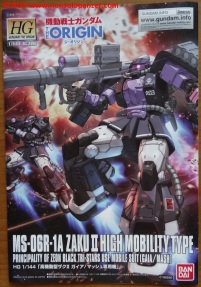 21 Zaku II High Moblility Type Black Tri-Stars