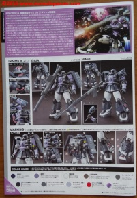 22 Zaku II High Moblility Type Black Tri-Stars