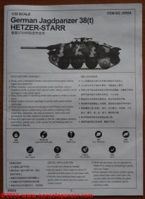 24 Jagdpanzer 38t Starr