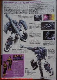 24 Zaku II High Moblility Type Black Tri-Stars