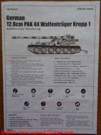 35 Krupp Waffentrager Pak-44 Trumpeter