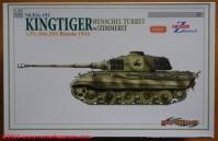 01 Tiger II Henschel Abt 505 Cyberhobby