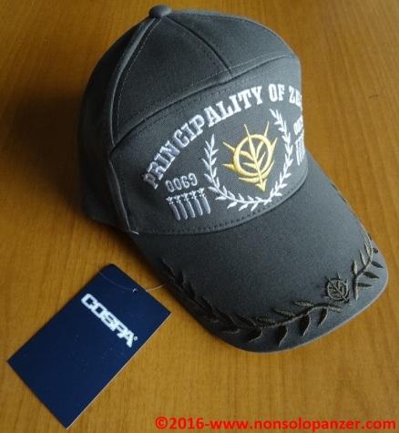 01 ZEON MILITARY APOLLO CAP MOSS - COSPA