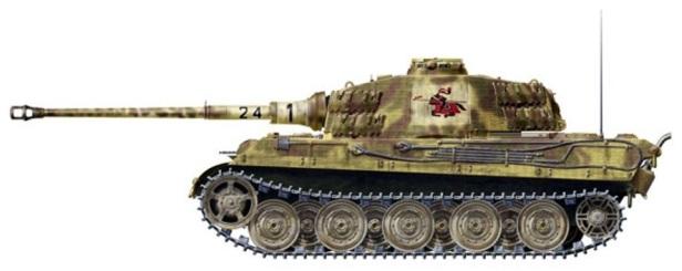 47 Tiger II Henschel Abt 505