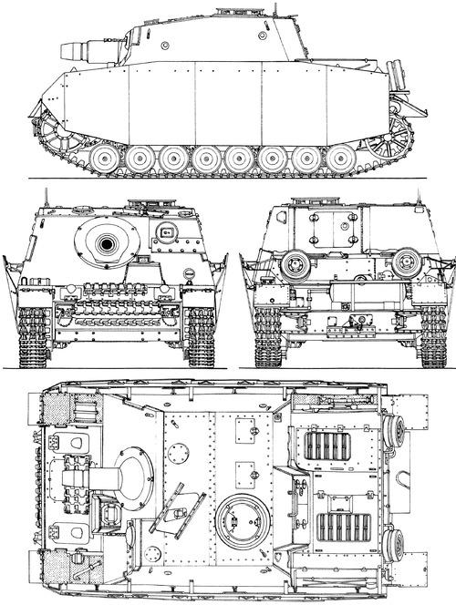 Brummbar Techincal Drawing