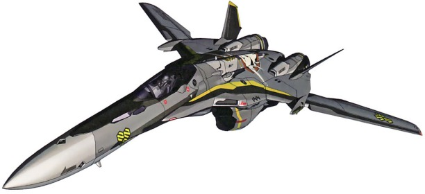 25 VF-25 fighter