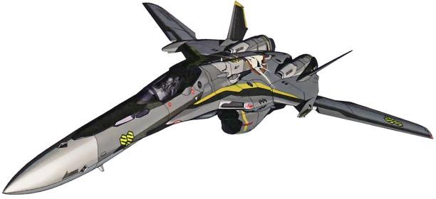 25 VF-25 fighter