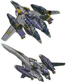 26 VF-25 super-fighter