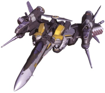 27 VF-25 armored-fighter