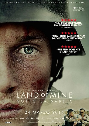 Land of Mine locandina