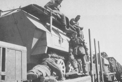 22 Sdkfz 251-7 Storical