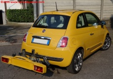 22 Portabiciclette Fiat 500