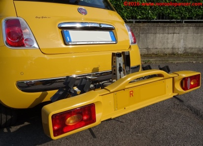 26 Portabiciclette Fiat 500