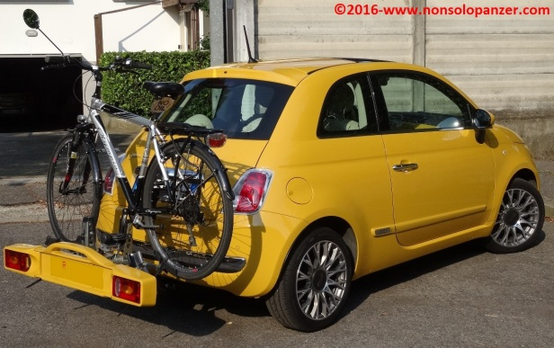 32 Portabiciclette Fiat 500
