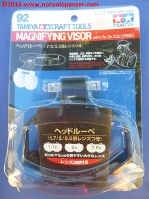 01 Tamiya Magnifying Visor