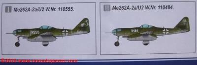 02 Me 262 A-2aU2 Hobby Boss