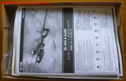 03 Me 262 A-2aU2 Hobby Boss