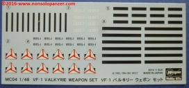 15 VF-1 Valkyrie Weapon Set 1-48