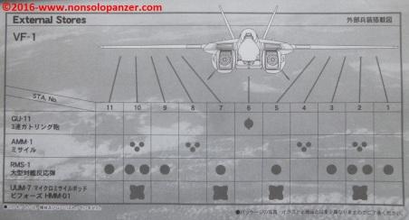 17 VF-1 Valkyrie Weapon Set 1-48
