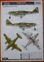 33 Me 262 A-2aU2 Hobby Boss