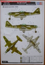 34 Me 262 A-2aU2 Hobby Boss