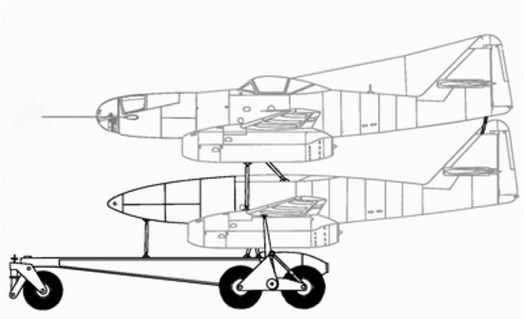 Me 262 A-2aU2 Mistel