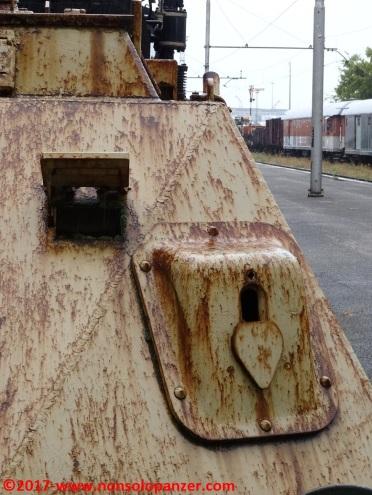 07 Panzer Draisine Museo Ferroviario Trieste Campo Marzio