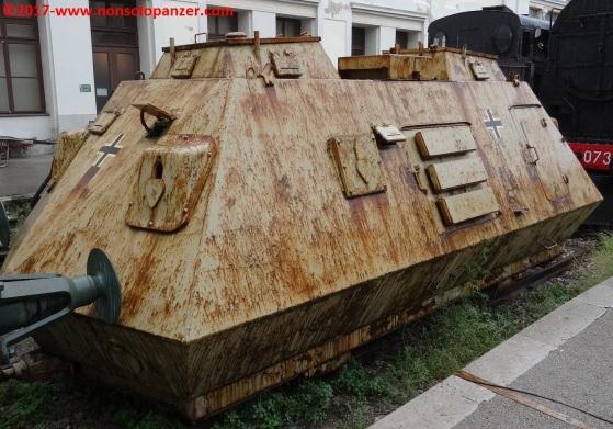 09 Panzer Draisine Museo Ferroviario Trieste Campo Marzio
