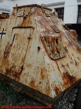 17 Panzer Draisine Museo Ferroviario Trieste Campo Marzio