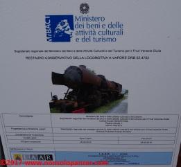 12 DRB52 Museo Ferroviario Trieste Campo Marzio