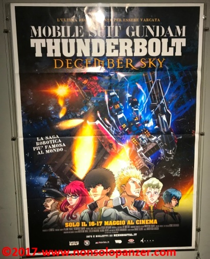 Locandina Gundam Thunderbolt 01