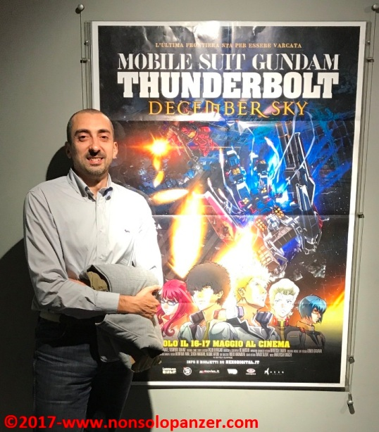 Locandina Gundam Thunderbolt 02