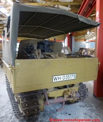 11 RSO Pak-40 Munster Panzer Museum