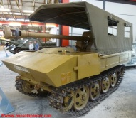19 RSO Pak-40 Munster Panzer Museum