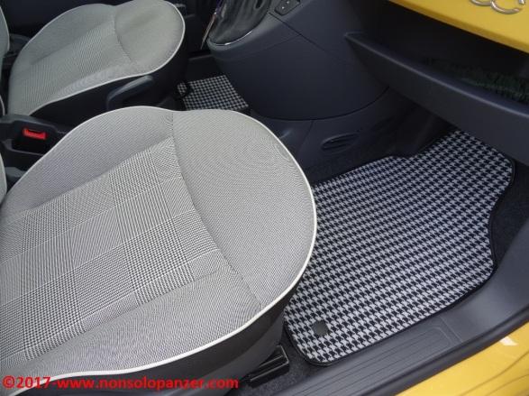 21 Tappetini Fiat 500 Officine Milano
