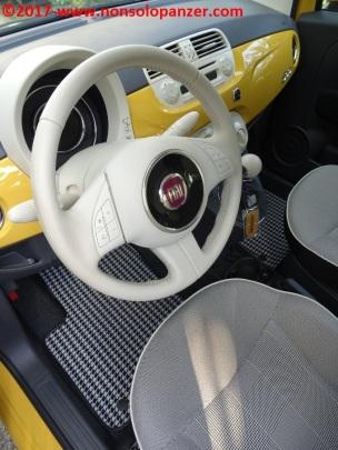 26 Tappetini Fiat 500 Officine Milano