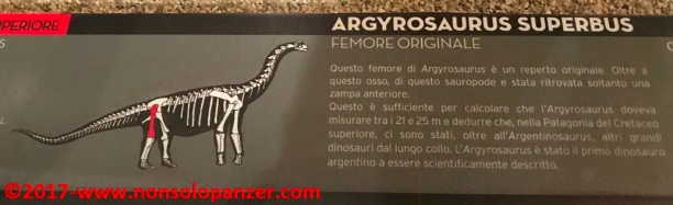 36 Dinosauri Giganti dell'Argentina